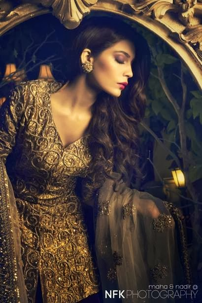 PERSHE By Kauser Humayun Party Wear Dresses for Women 2014-2015-StylesGap.com- (10)