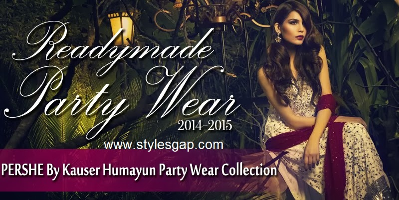 PERSHE By Kauser Humayun Party Wear Dresses for Women 2014-2015-StylesGap.com- (9)