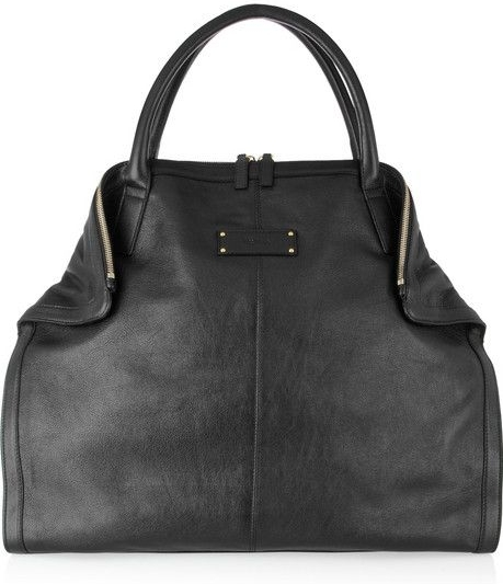 Alexander McQueen De-Manta Leather Tote | Top designer handbags for women (4)