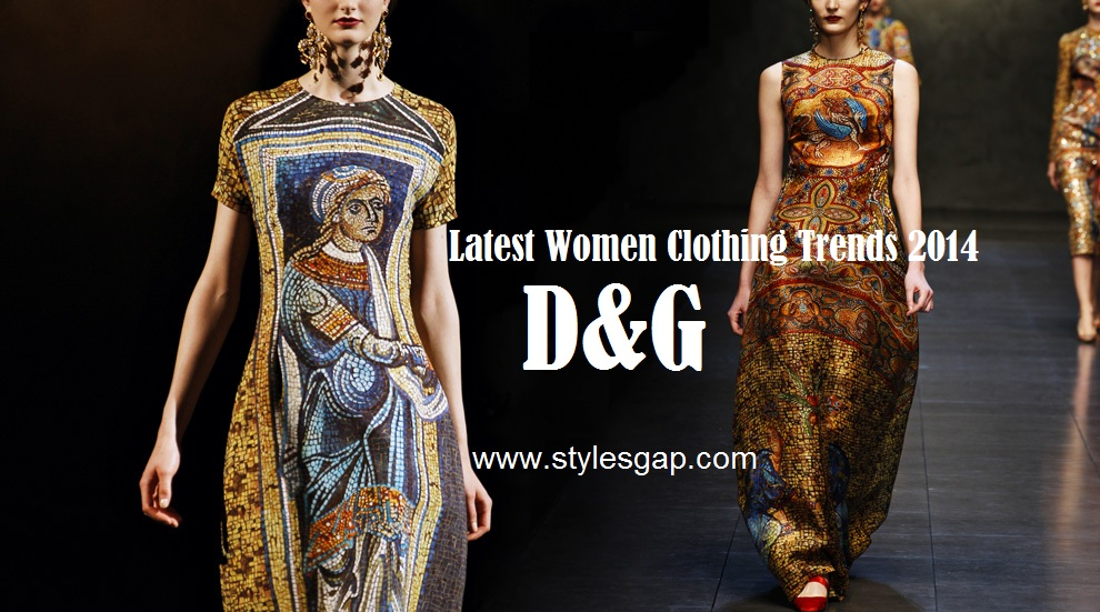 Women Winter Collection 2014 By Dolce and Gabbana