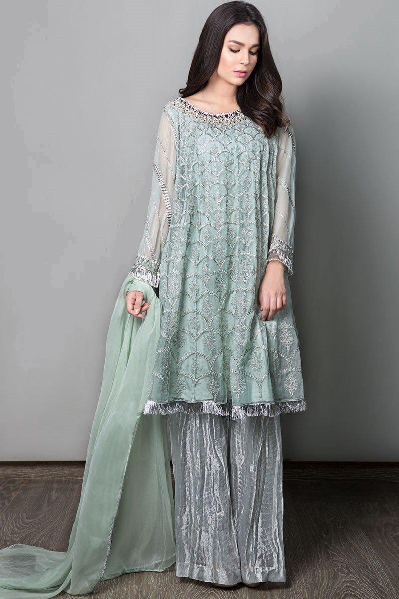 latest maria b pret stitched summer dresses designs 2019