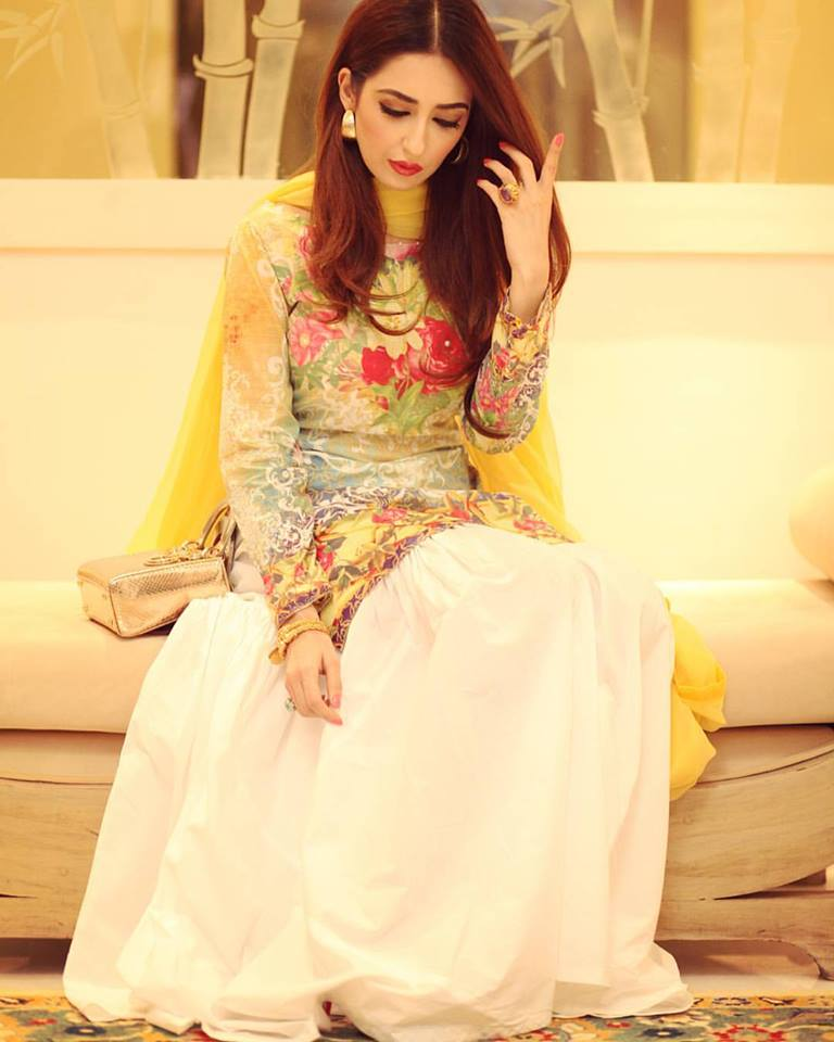 Fancy Party Wear Frocks Designs Collection 2017 18 By