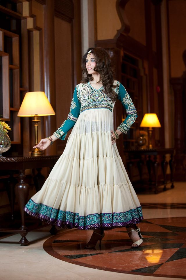 fancy party wear frocks designs collection 201718 by