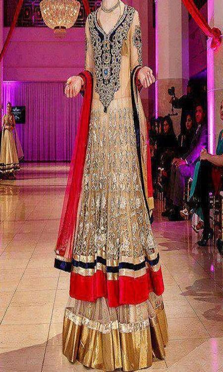 Latest Bridal dresses for Barat, Mehndi and Walima (12)
