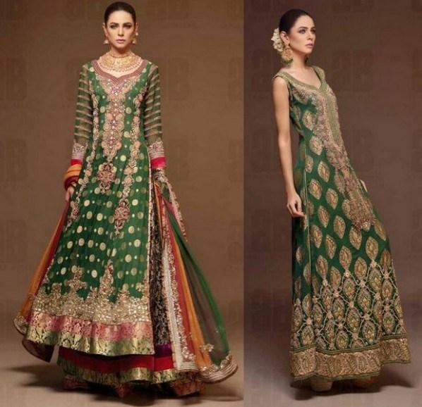 Latest Bridal dresses for Barat, Mehndi and Walima (3)