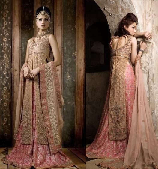 Latest Bridal dresses for Barat, Mehndi and Walima (8)