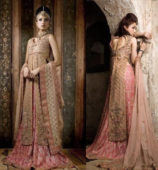 Latest Bridal dresses for Barat, Mehndi and Walima (8)