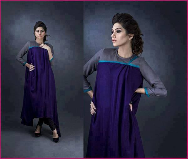 Latest Designs of Summer Long Shirts for Women 2014 (10)