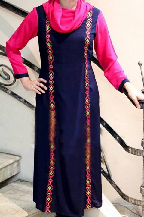 Latest Designs of Summer Long Shirts for Women 2014 (2)