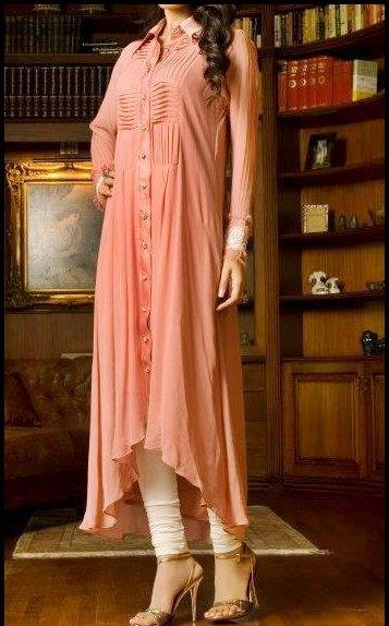 Latest Designs of Summer Long Shirts for Women 2014 (6)