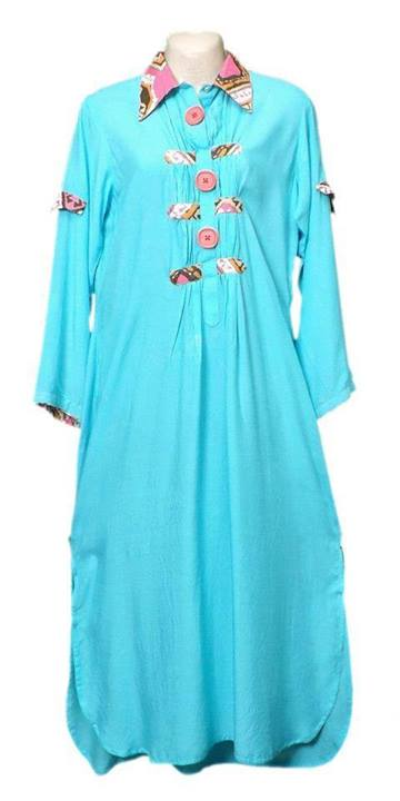 Latest Designs of Summer Long Shirts for Women 2014 (7)