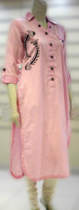 Latest Designs of Summer Long Shirts for Women 2014 (9)