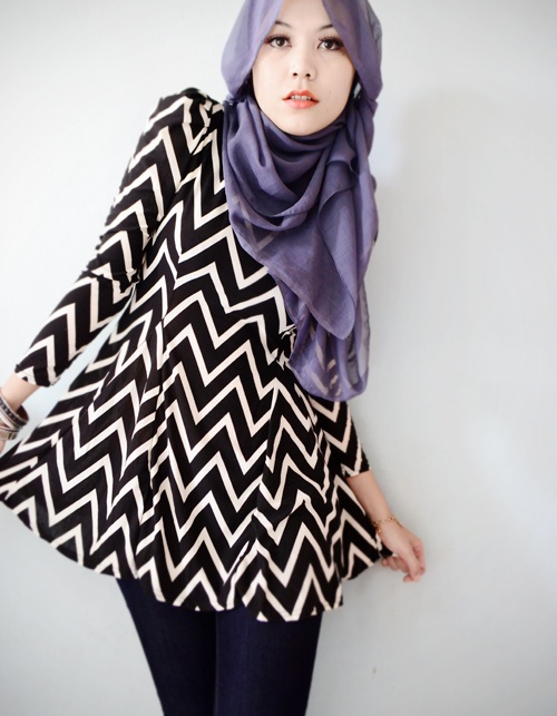 Latest Hijab styles for Girls 2014-2015 (11)