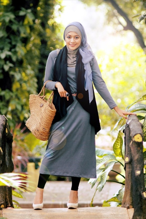 Latest Hijab styles for Girls 2014-2015 (12)