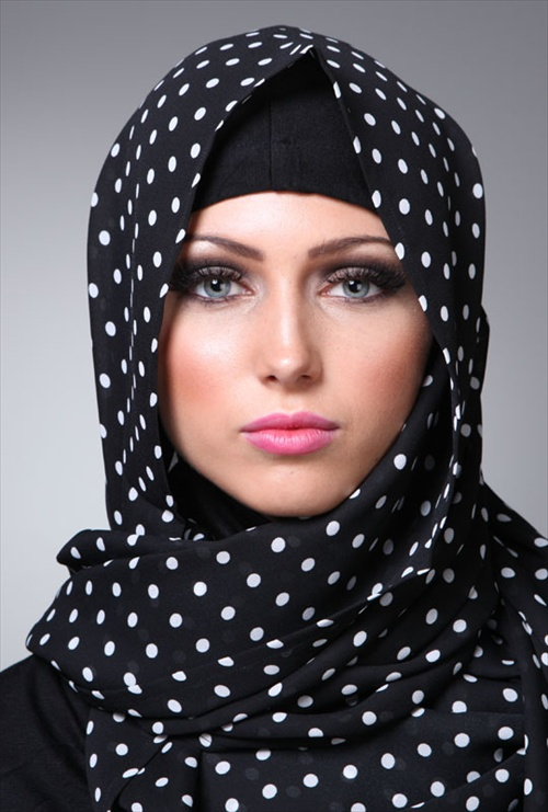 Latest Hijab styles for Girls 2014-2015 (3)