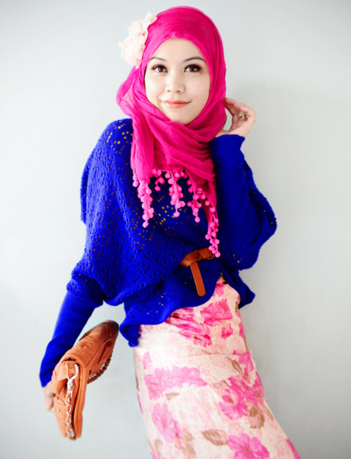 Latest Hijab styles for Girls 2014-2015 (5)