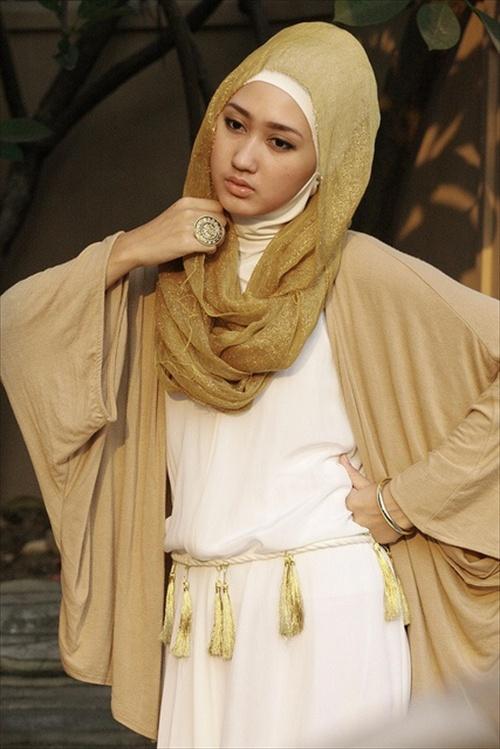 Latest Hijab styles for Girls 2014-2015 (7)