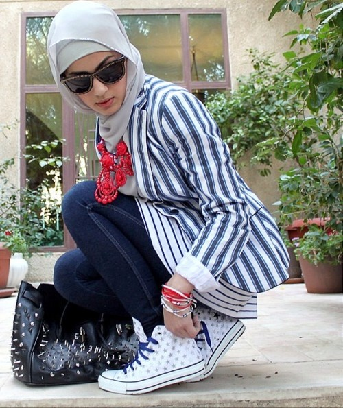 Latest Hijab styles for Girls 2014-2015 (8)