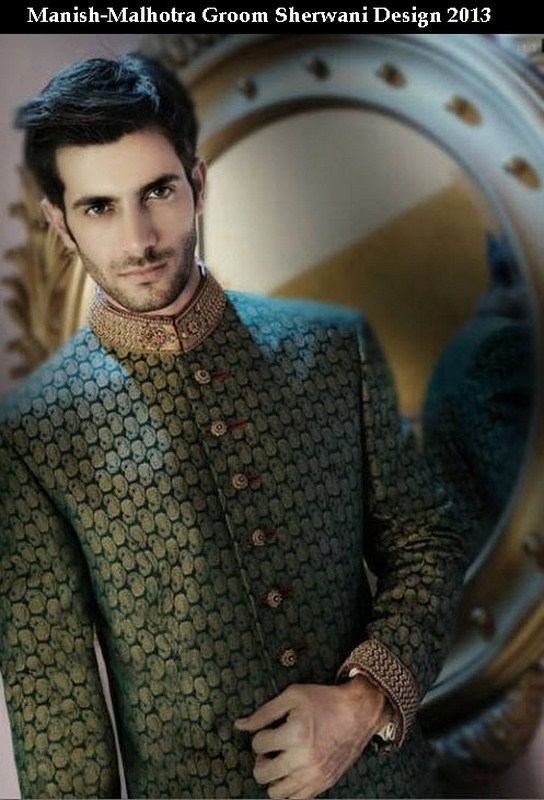 Latest Sherwani Designs for Weddings and Parties 2014-2015 (1)
