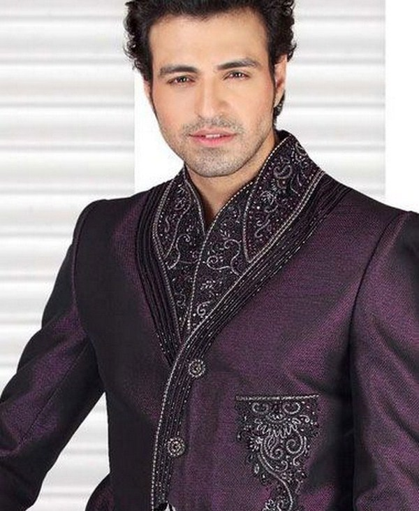 Latest Sherwani Designs for Weddings and Parties 2014-2015 (10)