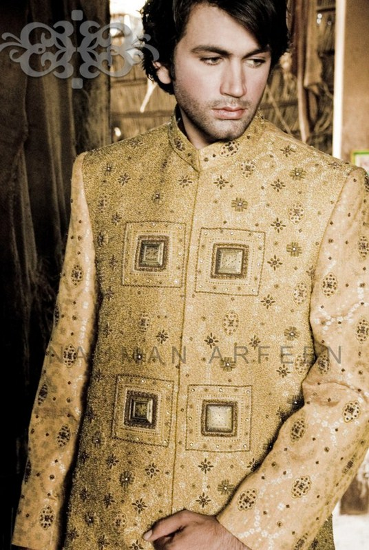 Latest Sherwani Designs for Weddings and Parties 2014-2015 (11)