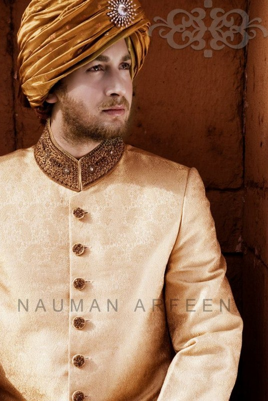Latest Sherwani Designs for Weddings and Parties 2014-2015 (12)