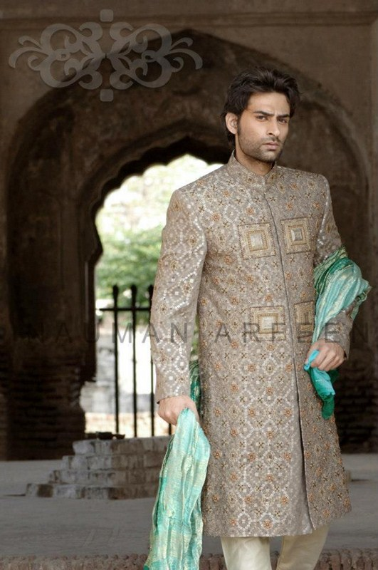 Latest Sherwani Designs for Weddings and Parties 2014-2015 (13)