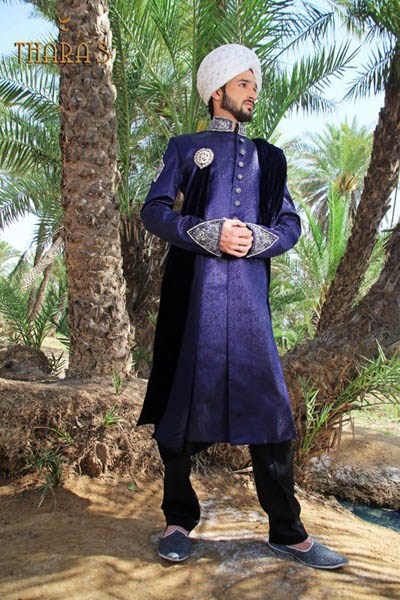 Latest Sherwani Designs for Weddings and Parties 2014-2015 (14)