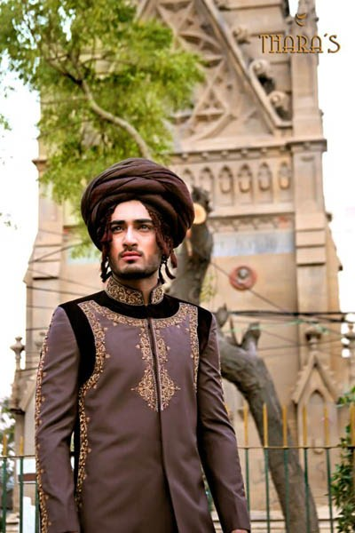 Latest Sherwani Designs for Weddings and Parties 2014-2015 (17)