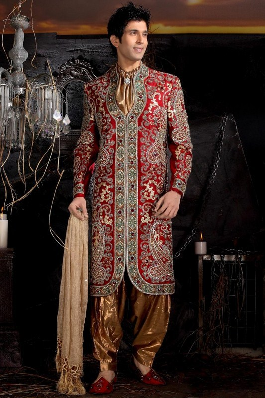 Latest Sherwani Designs for Weddings and Parties 2014-2015 (19)