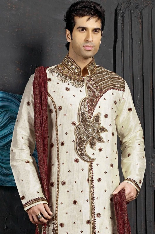 Latest Sherwani Designs for Weddings and Parties 2014-2015 (2)