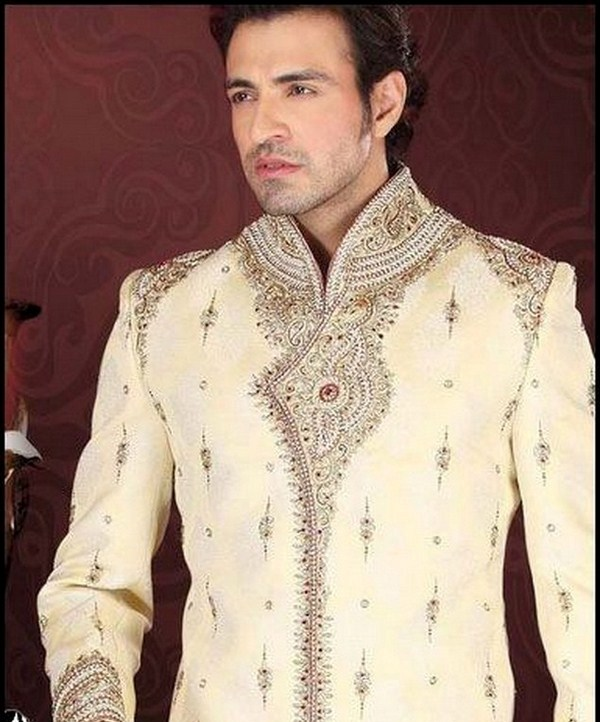 Latest Sherwani Designs for Weddings and Parties 2014-2015 (4)