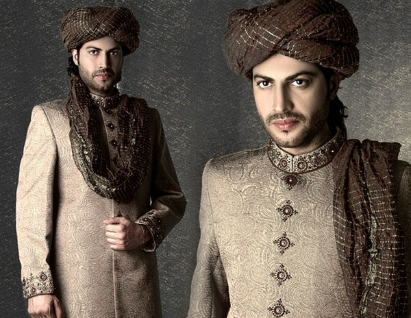 Latest Sherwani Designs for Weddings and Parties 2014-2015 (6)