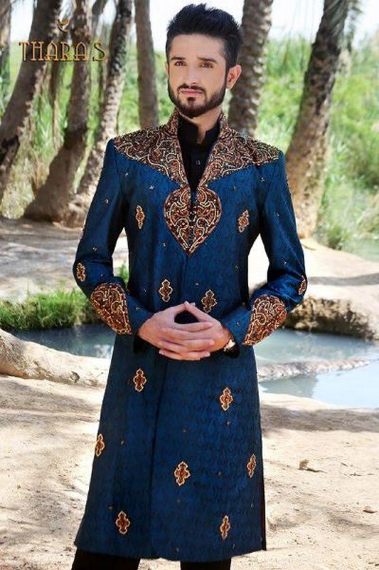 Latest Sherwani Designs for Weddings and Parties 2014-2015 (7)
