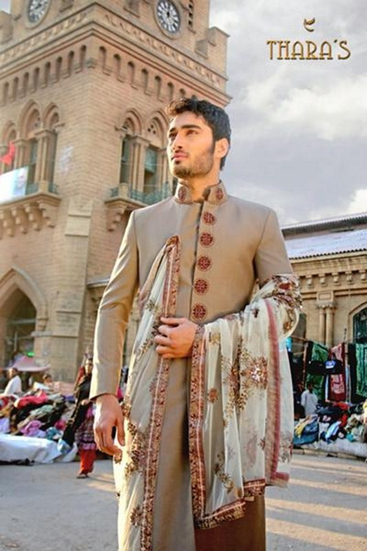 Latest Sherwani Designs for Weddings and Parties 2014-2015 (8)