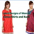 Latest women Cotton Shirts and Kurti Designs For Spring-Summer