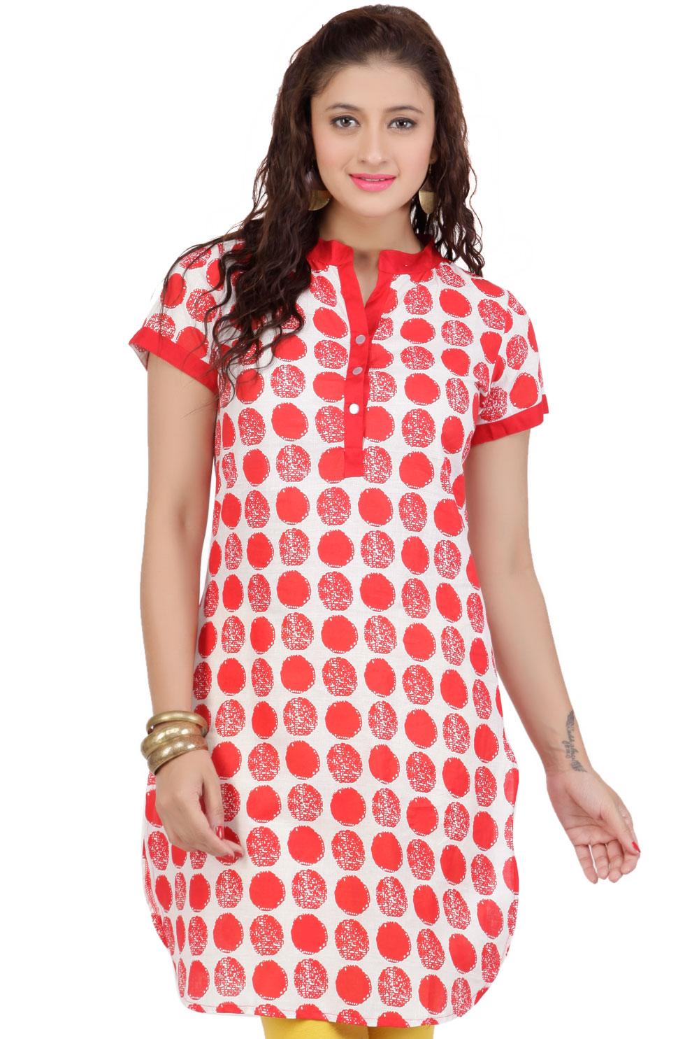 Shirt ke design - Latest Women Cotton Shirts And Kurti Designs For Spring Summer 10
