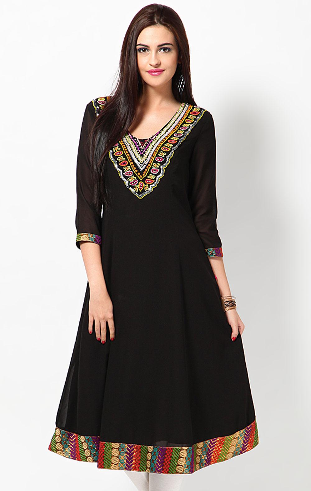 Shirt design kurti - Latest Women Cotton Shirts And Kurti Designs For Spring Summer 11