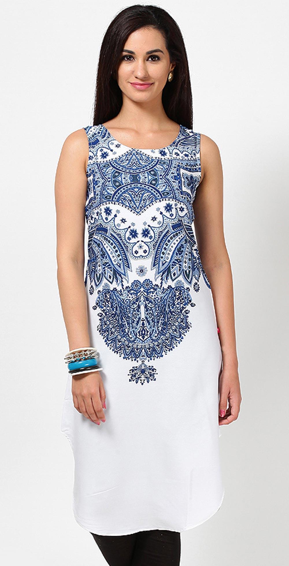 Shirt design kurti - Latest Women Cotton Shirts And Kurti Designs For Spring Summer 5