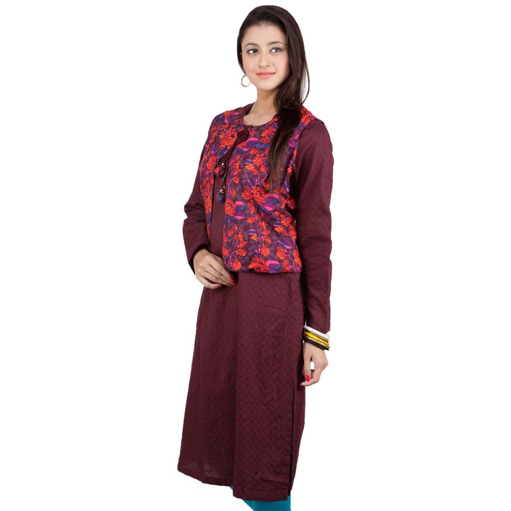 Shirt ke design - Latest Women Cotton Shirts And Kurti Designs For Spring Summer 7