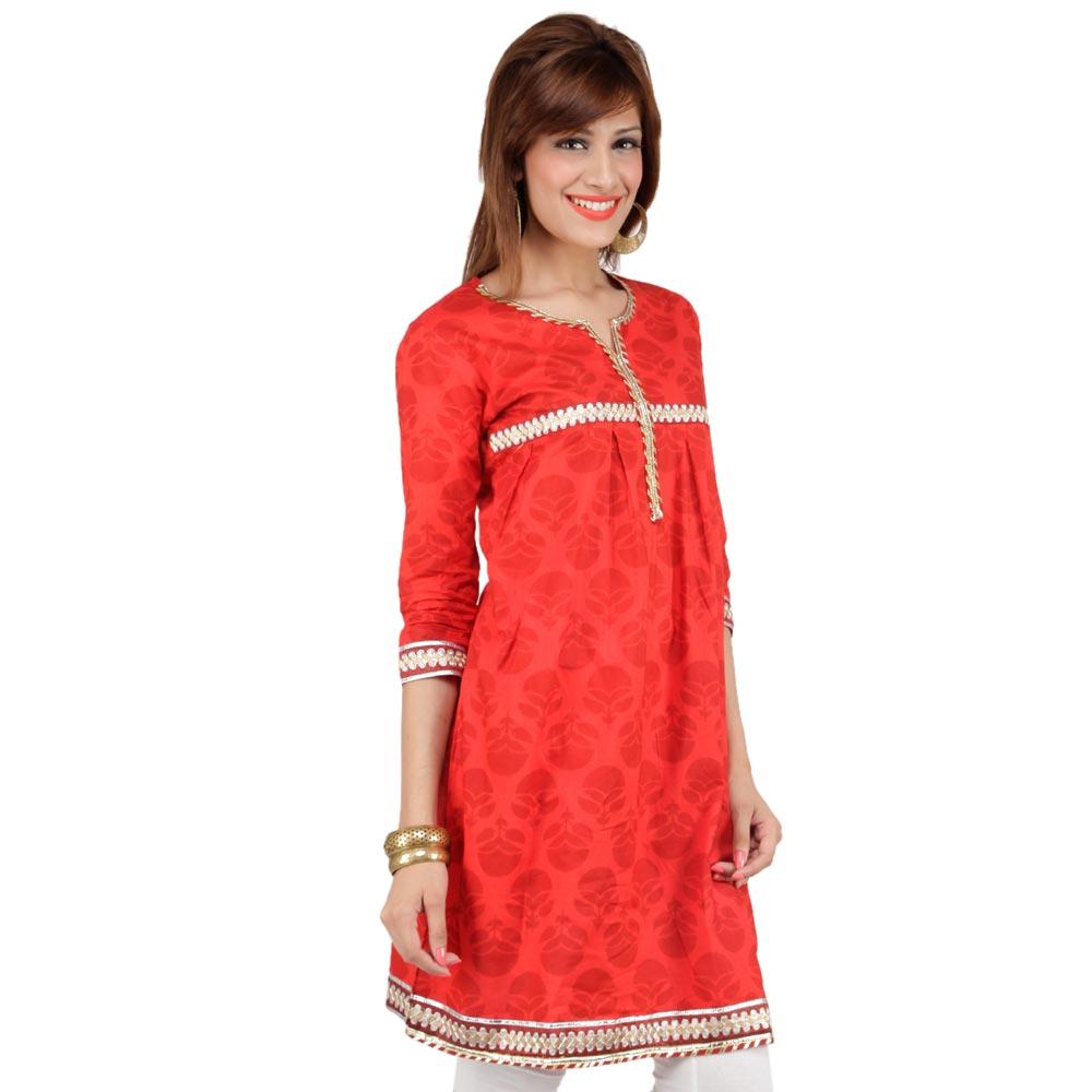 Shirt ke design - Latest Women Cotton Shirts And Kurti Designs For Spring Summer 8