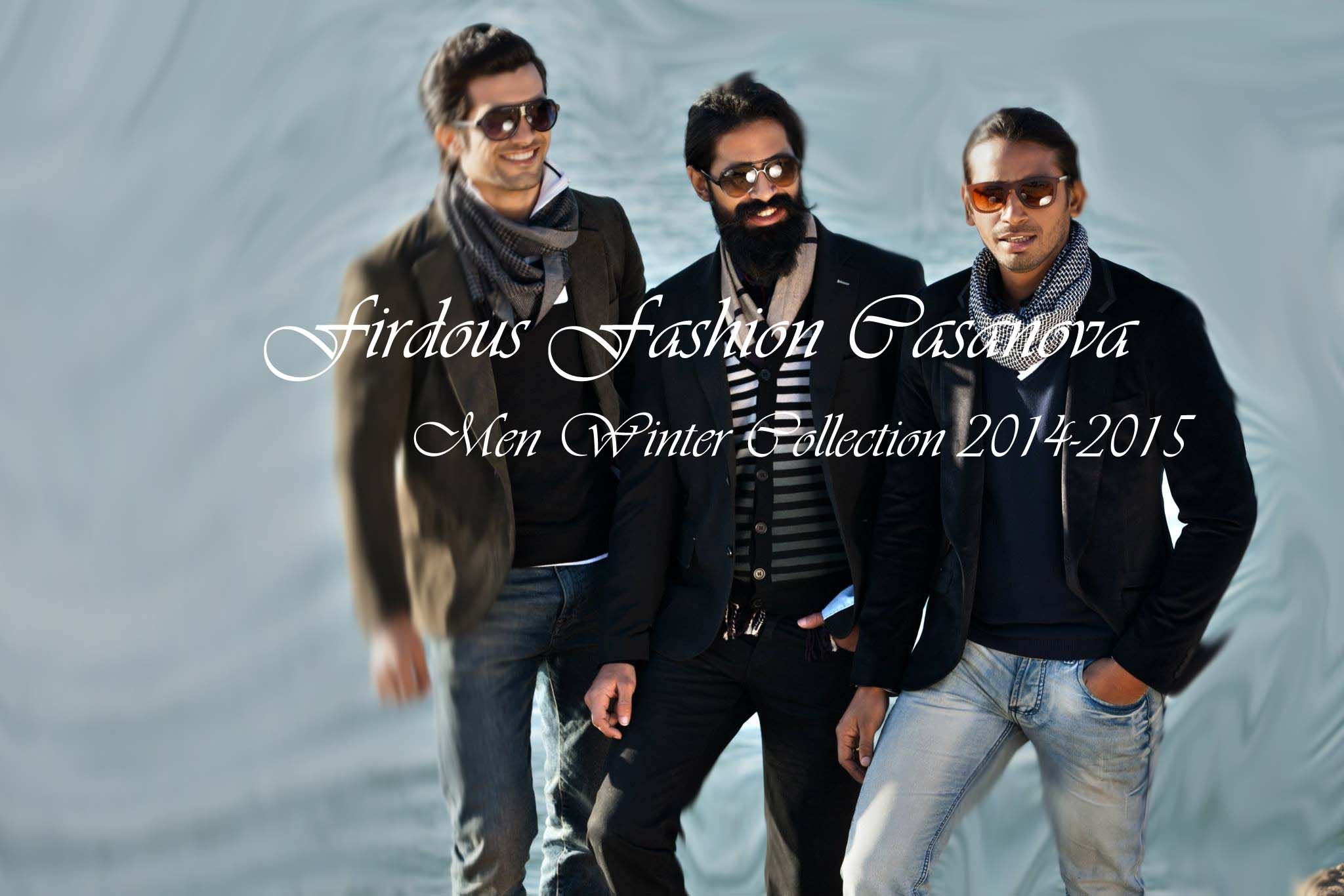 Latest Winter Outfits For Men By firdous Textiles