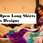 Front Open Long Double Shirts Designs with Palazzo for Women