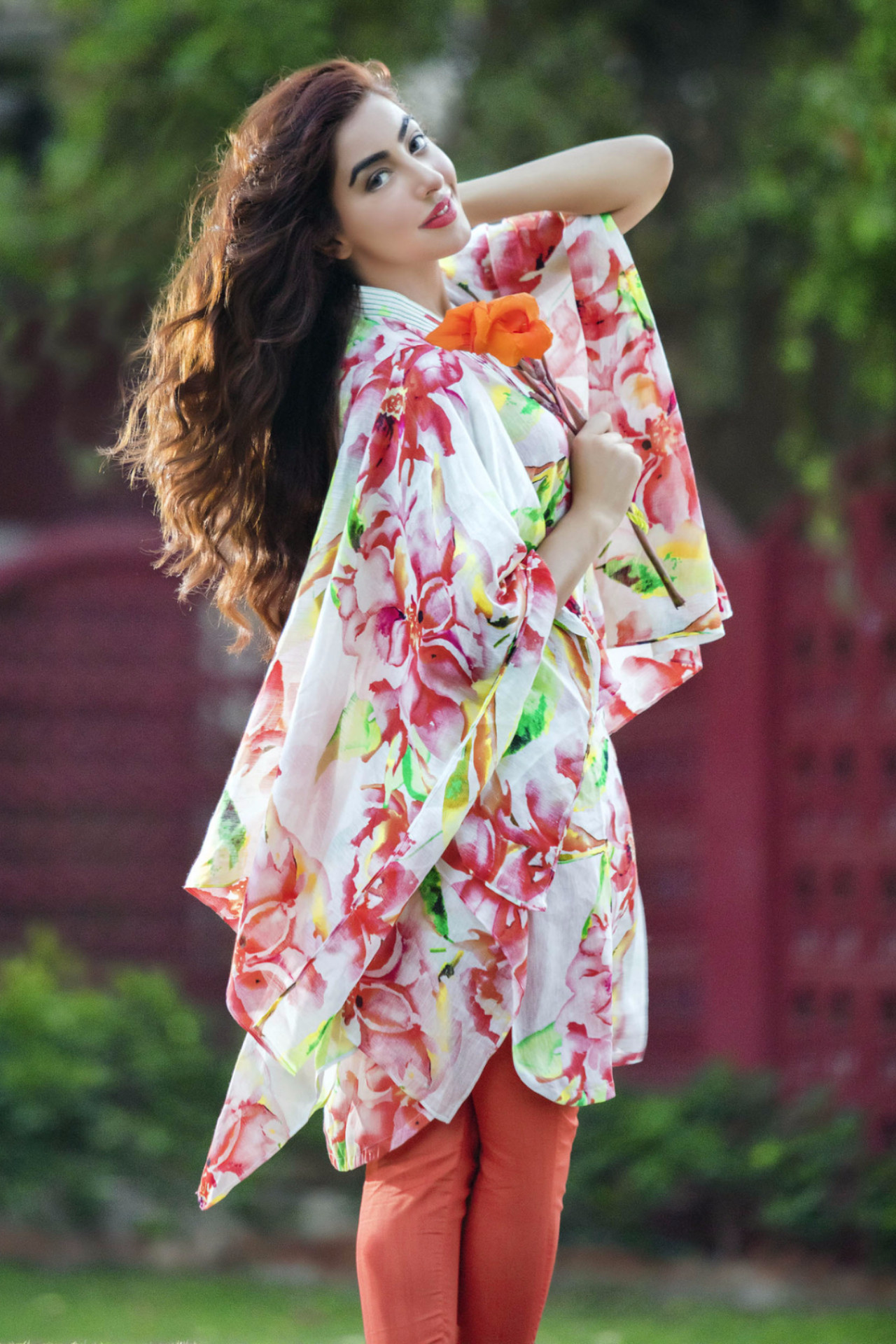 Gul Ahmed Digital Printed Summer Lawn Dresses & Kurtis Designs 2017-2018 (5)