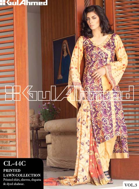Gul Ahmed Lawn Summer Collection for Women 2014-2015 (6)