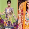 Gul Ahmed Printed Summer lawn Dresses 2017-2018
