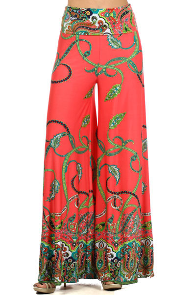 Latest Printed Palazzo and Embroidered Tights for Women (5)