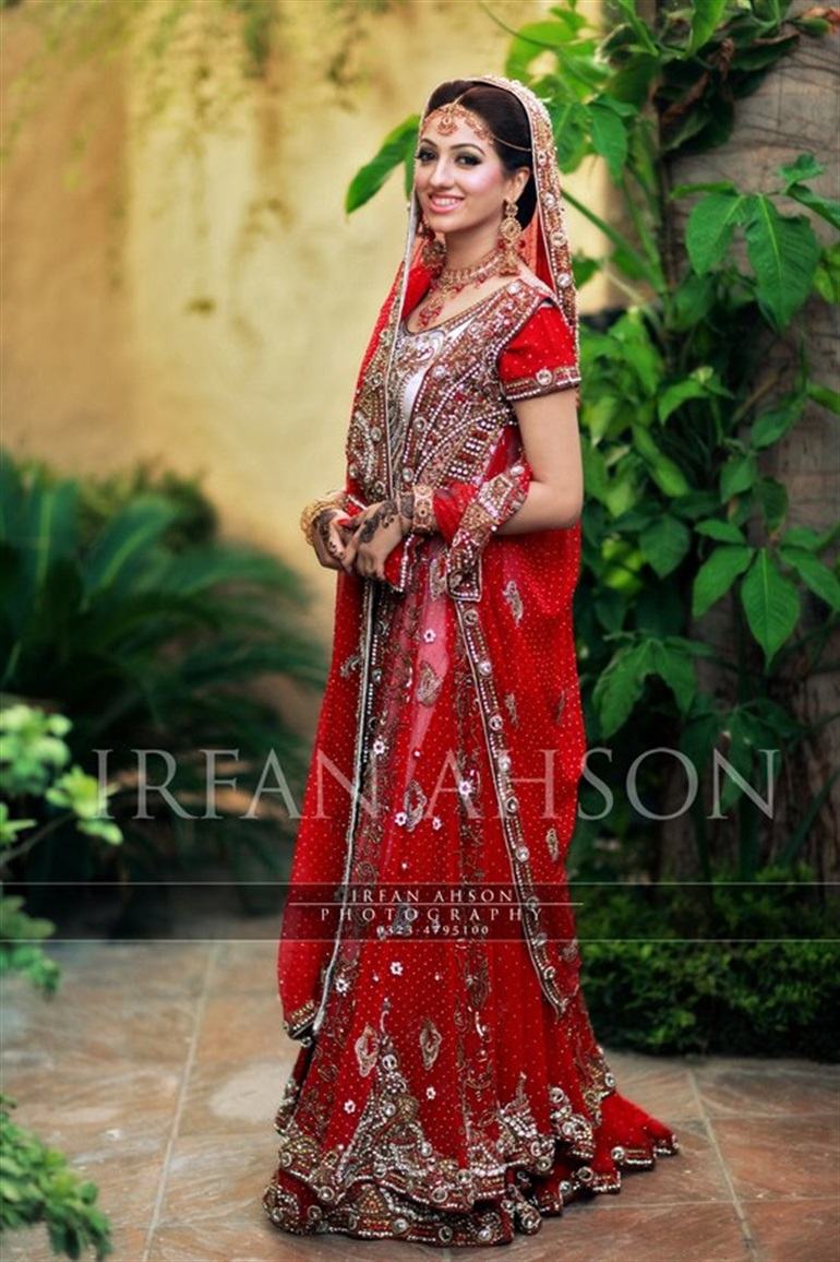 Red Bridal Dresses Latest Designs & Trends Collection 2016-2017