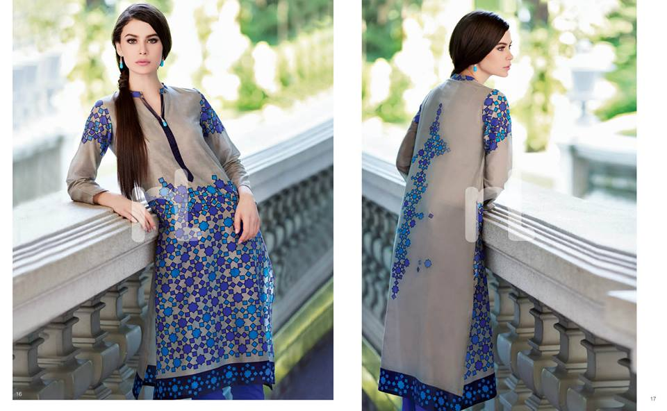 Latest Summer Spring Dresses 2014 By Nishat Linen NL Pret Wear 11 - Latest Summer/Spring Dresses 2014 For Women by Nishat Linen