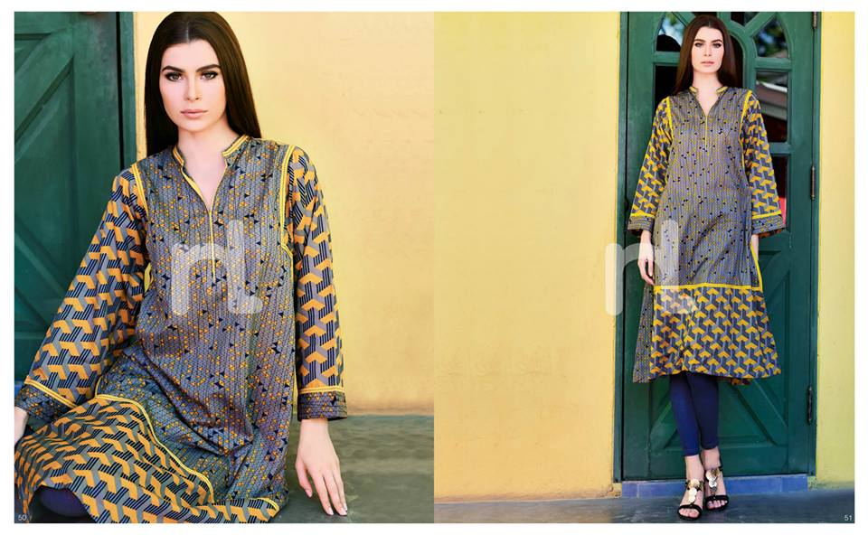 Latest Summer Spring Dresses 2014 By Nishat Linen NL Pret Wear 16 - Latest Summer/Spring Dresses 2014 For Women by Nishat Linen